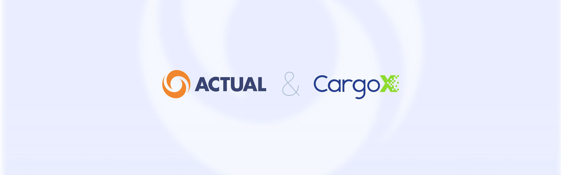 CargoX | CargoX and Actual Group partners in the PORT-Line